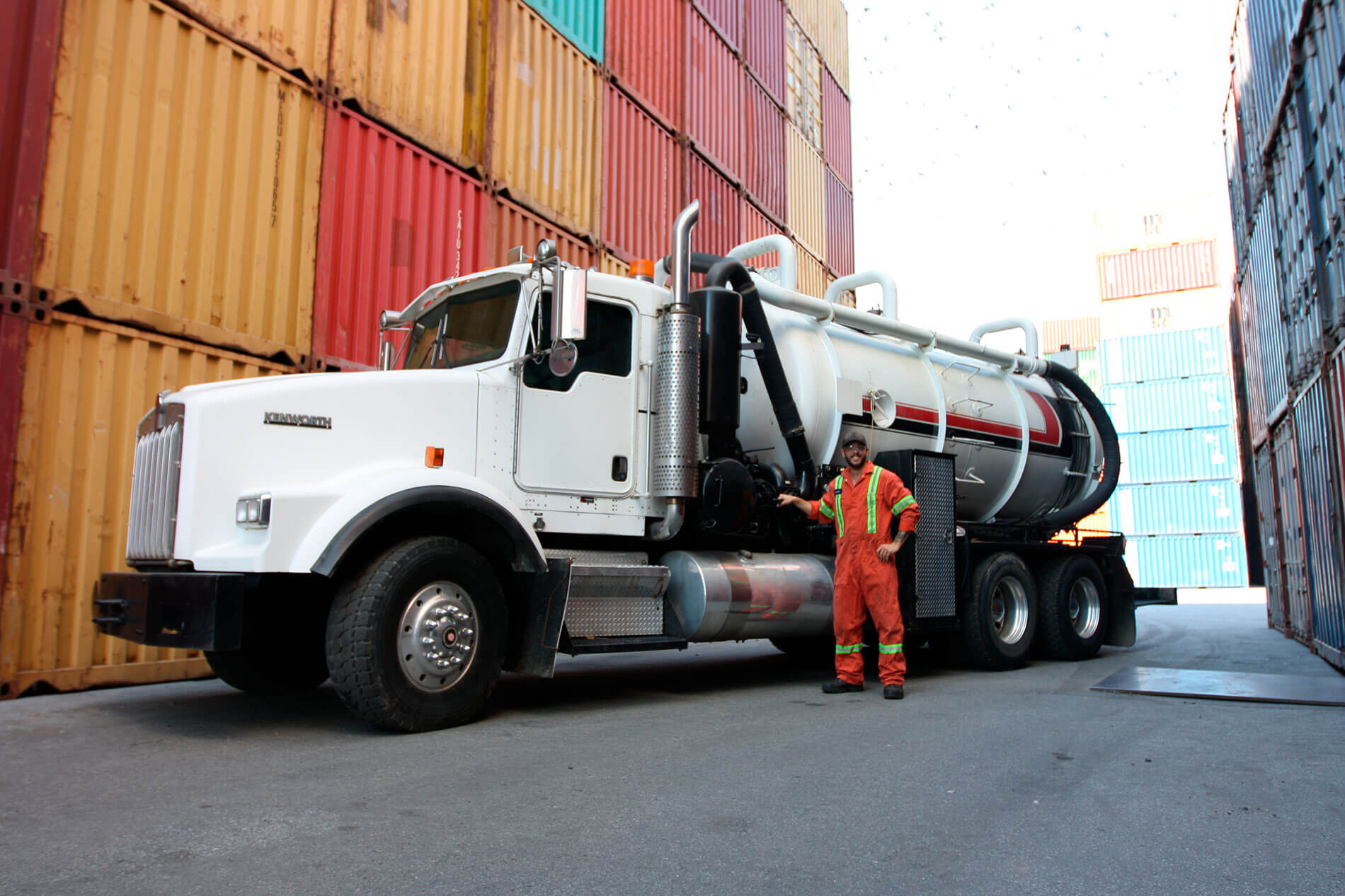 Vac Force Services Vacuum Truck